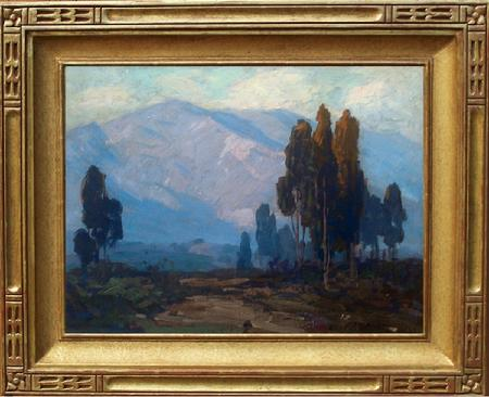 Edgar Payne ~ A California Landscape ~ 12 x 16 inches, oil on board, excellent condition!